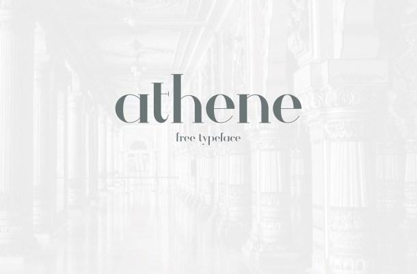 Athene Free Typeface