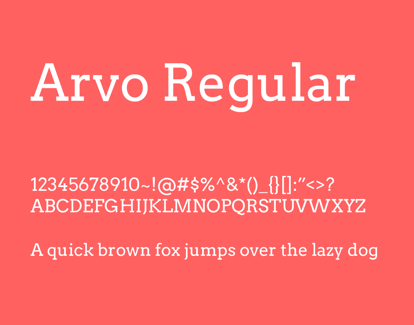 arvo regular