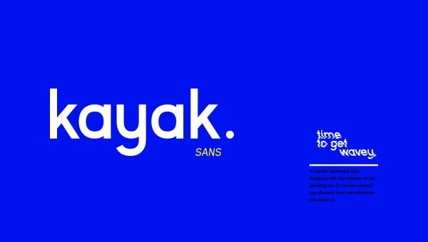 Kayak Sans Font Family