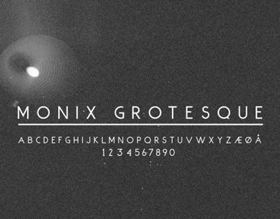 Monix Grotesque Font Free