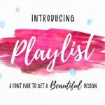 Playlist Font Free