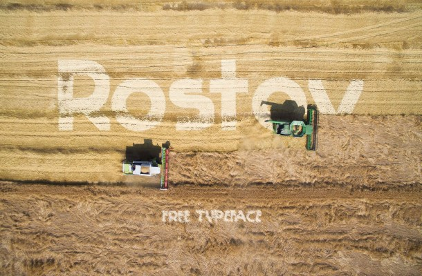 Rostov Free Typeface
