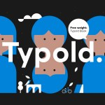 Typold Typeface Family + Free Weight