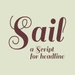 Sail Free Script Font