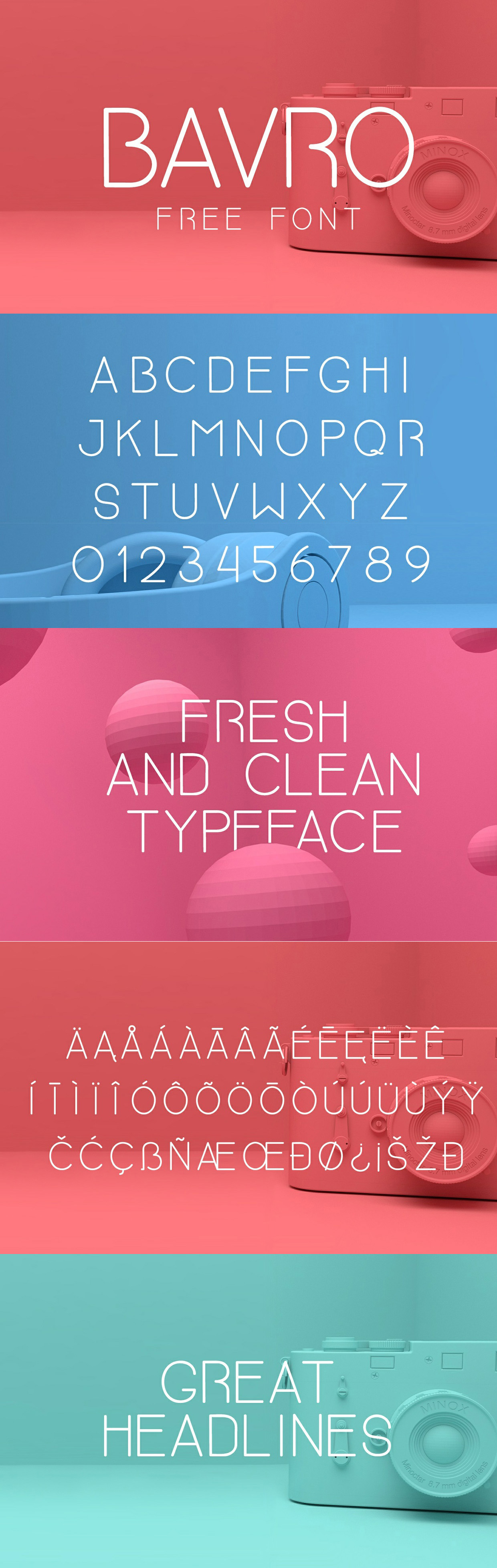Bavro typeface
