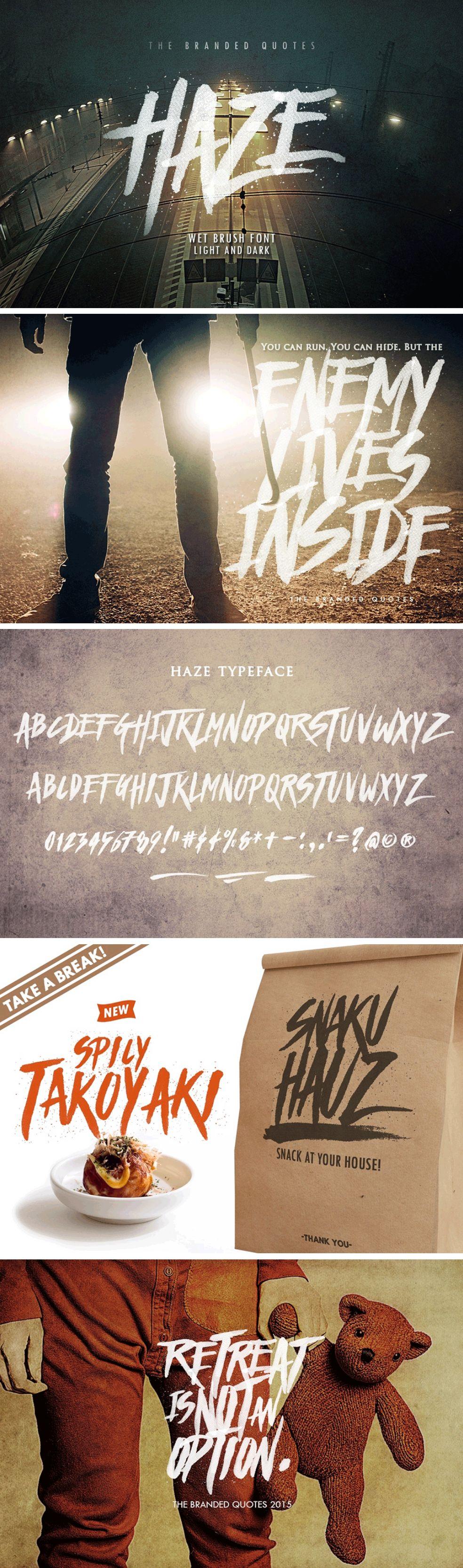 Haze Typeface