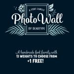 Photowall Font Family Free