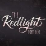 Redlight Brush Script Free