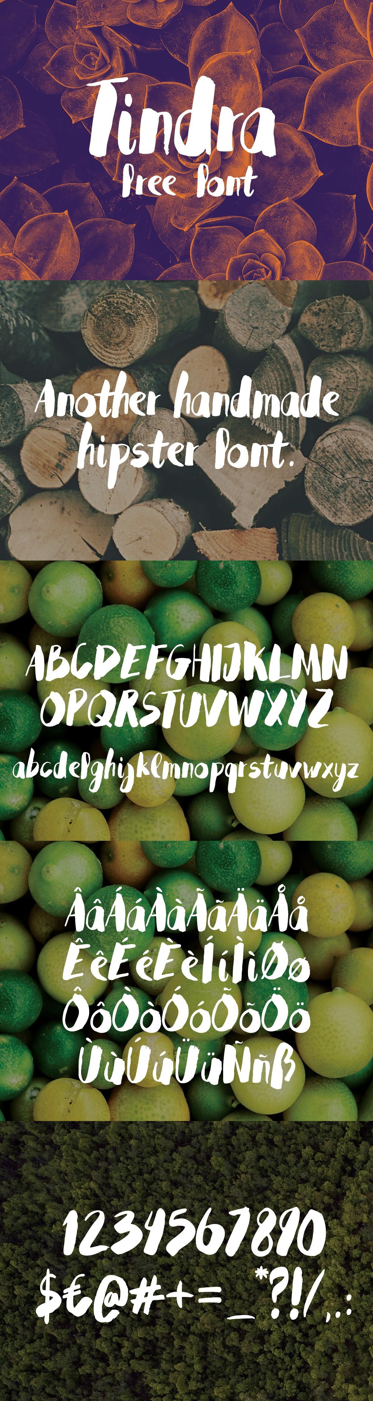 Tindra typeface