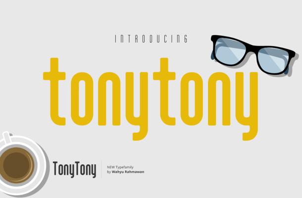 Tony Tony Font Free