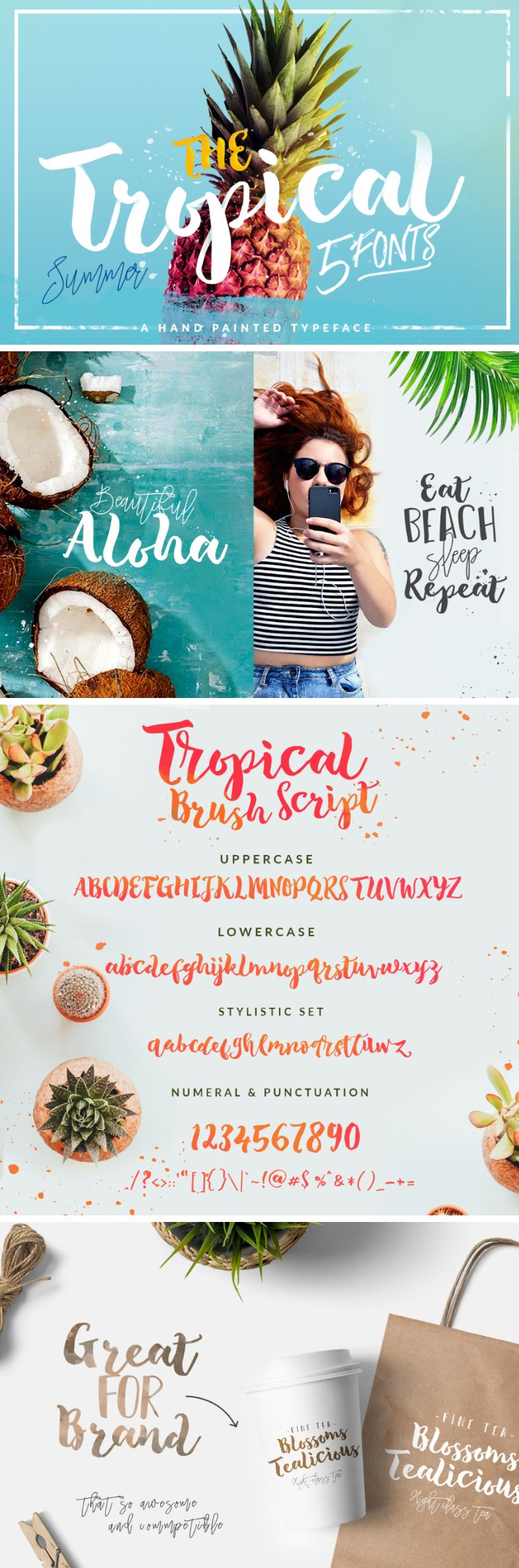 Tropical Brush Script Free Demo - Free