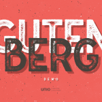 Gutenberg Free Retro Typeface