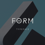Form Free Display Font