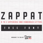 Zappat Display Free Typeface