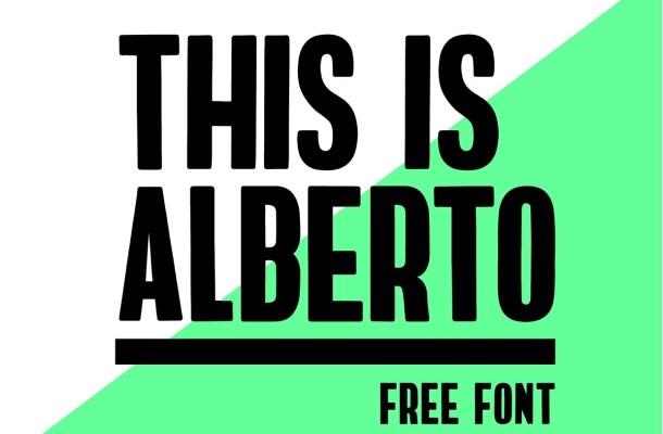 Alberto Free Font