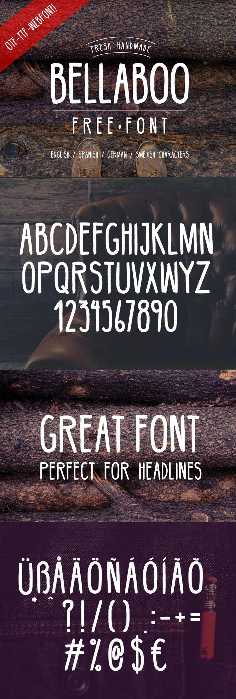 bellabo typeface