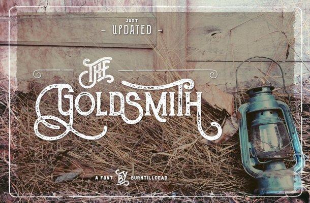 The Goldsmith Font