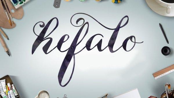 Hefalo Script Free Font