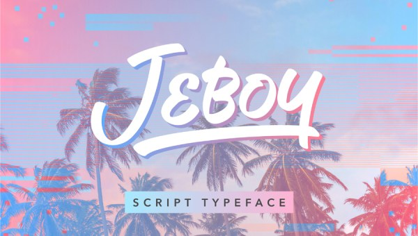 Jeboy Free Script Font