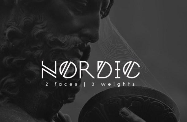 Nordic Free Font