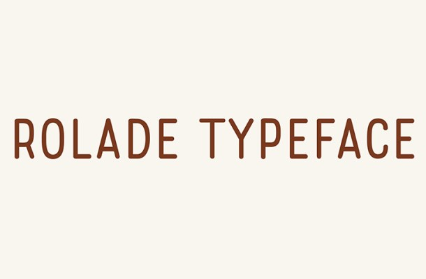 Rolade Free Font