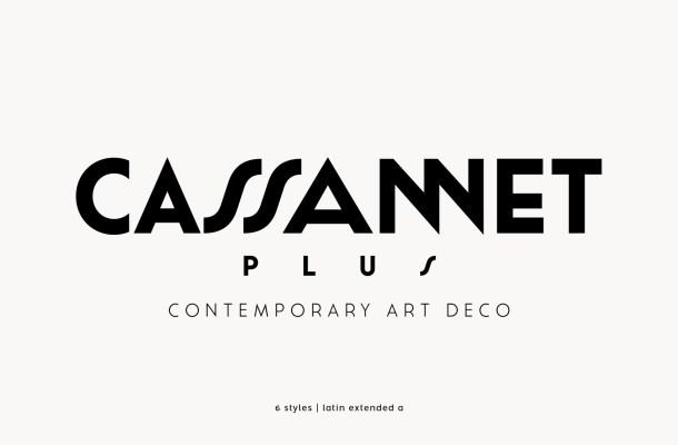 Cassannet Free Typeface