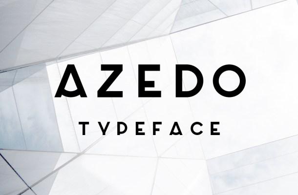 Azedo Free Sans Serif Font