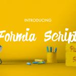 Formia Free Script Font