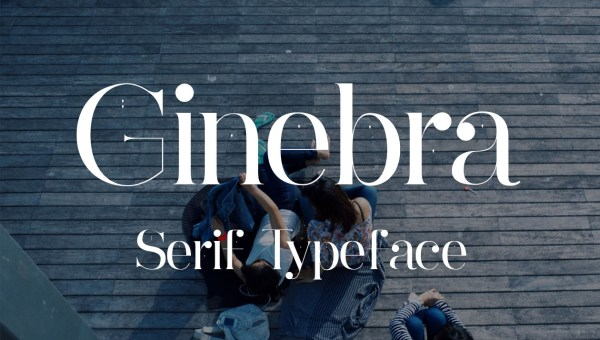 Ginebra Free Serif Font