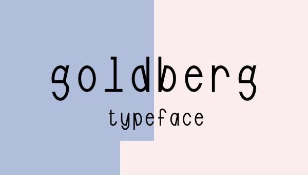 Goldberg Free Font