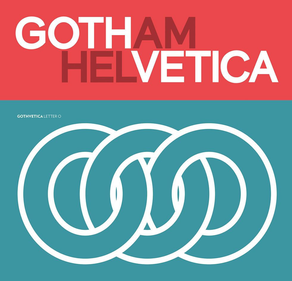 Gotham & Helvetica Free Font - Free Fonts