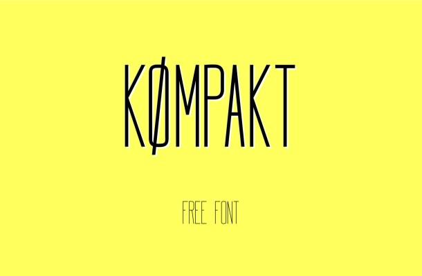 Kompakt Free Font Family