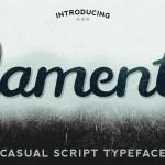 Lament Free Script Font