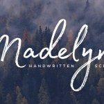 Madelyn Free Font