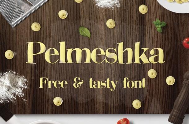 Pelmeshka Free Display Font