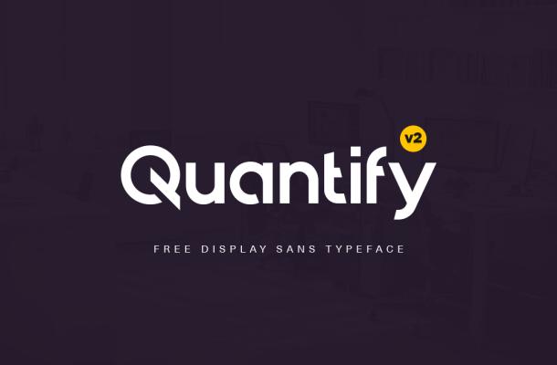 Quantify Free Font