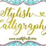 Stylish Calligraphy Free Font