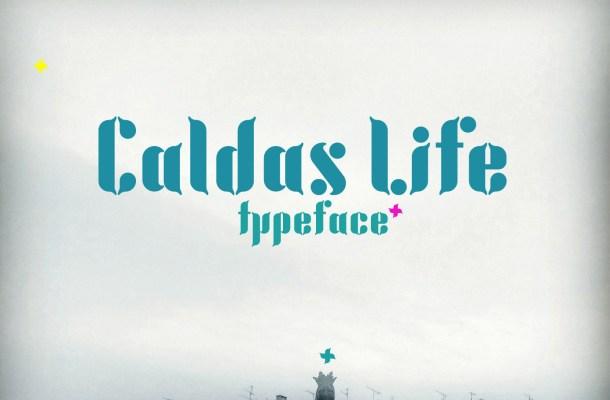 Caldas Life Free Font