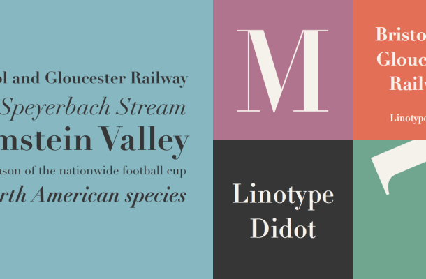 Didot Font Family & Free Alternatives