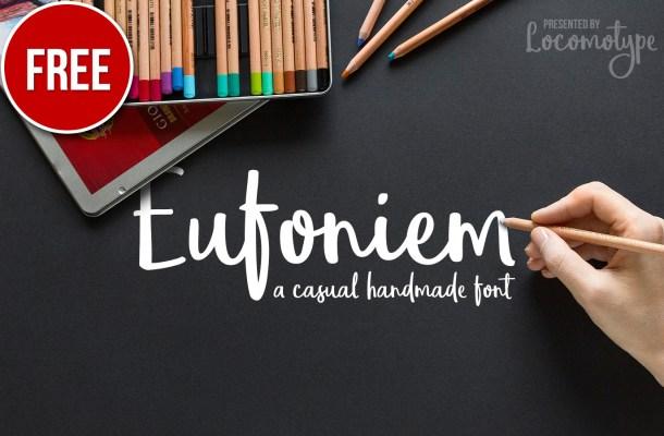 Eufoniem Script Free Font
