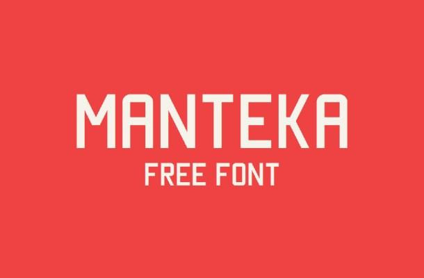 Manteka Free Font