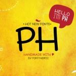 PH Free Handmade Font