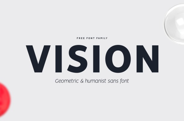 VISION – Free Font Family