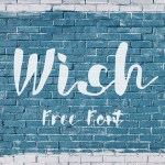 Wish Free Hand Lettering Font