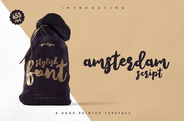 Amsterdam Free Script Font