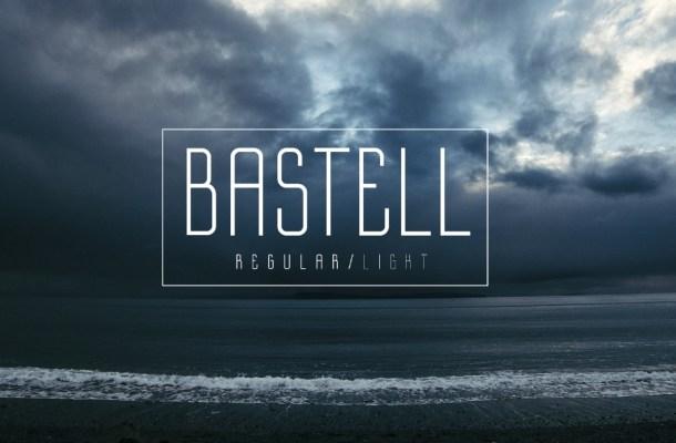 Bastell Free Display Font