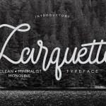 Larquette Free Script Typeface