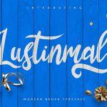 Lustinmal Free Script Font