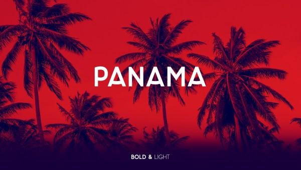 Panama – Free Light Font