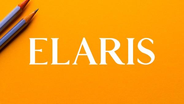 Elaris Free Serif Font